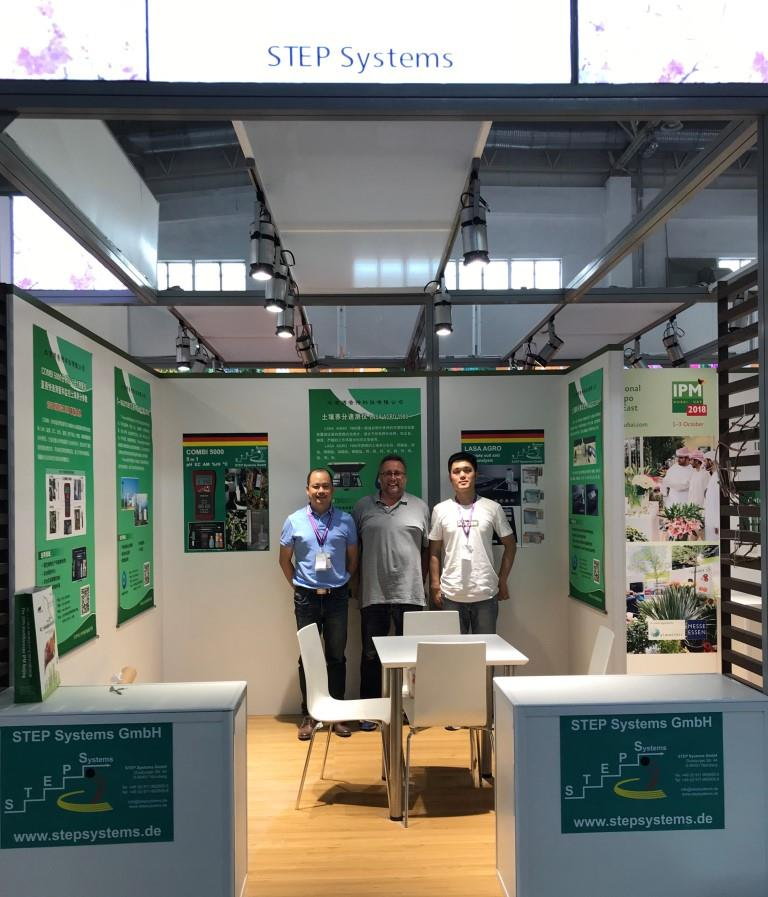 STEP Systems booth together with Bejing Biopute Technology Co., Ltd., our Chinese partner